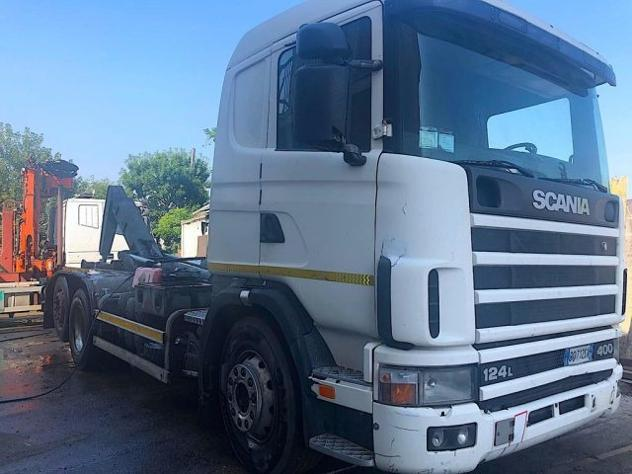 Scania r 124 lb 6x2 scarrabile rif. 12228556
