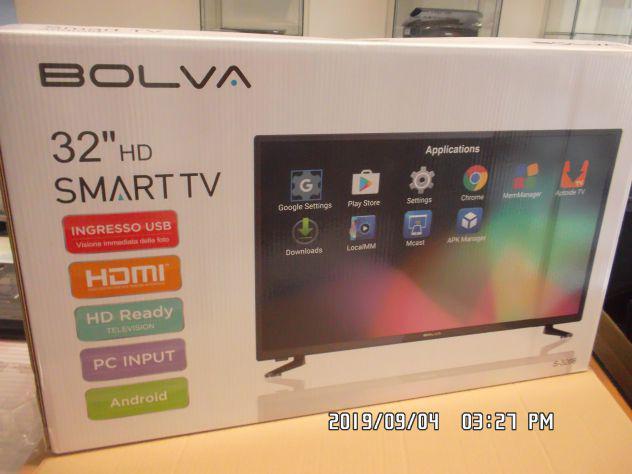 Smart tv marca bolva 32'' nuova imballata con android tv e