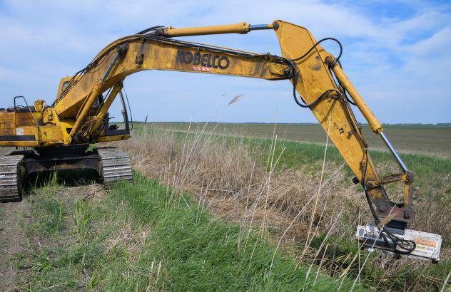 Trincia per escavatore aardenburg x vator 800