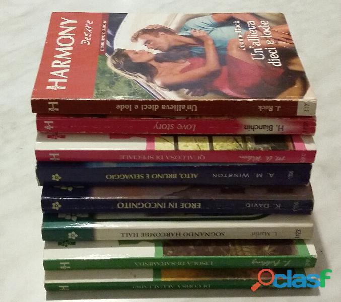 Stock di 8 vol.harmony desire, collezione, destiny e jolly vedi la lista completa come nuovo