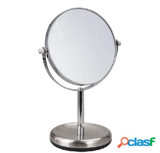 Specchio normale o ingranditore da bagno/tavolo con piede
