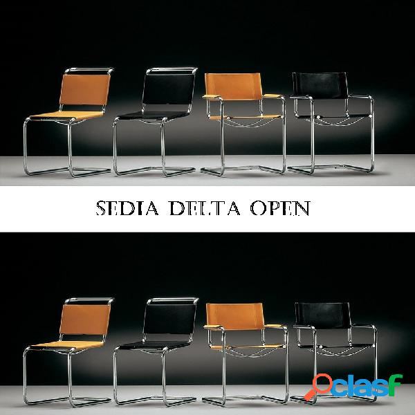 Sedia Delta Open by Mart Stam