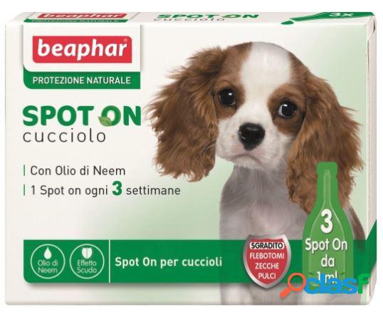 Beaphar protezione naturale spot on cucciolo pipette 3