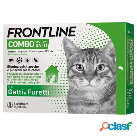 Frontline combo antiparassitario per gatti e furetti spot 6 x 0.5...