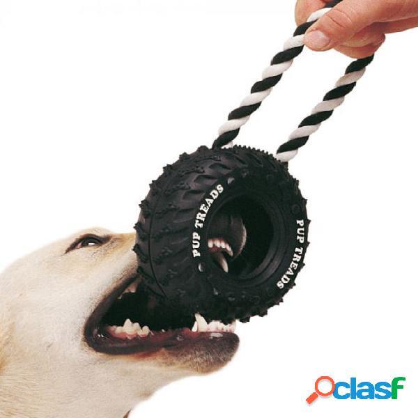 Ferplast gioco per cane copertone con maniglia medium