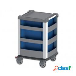 Compact kart carrello multifunzione per emergenza - blu