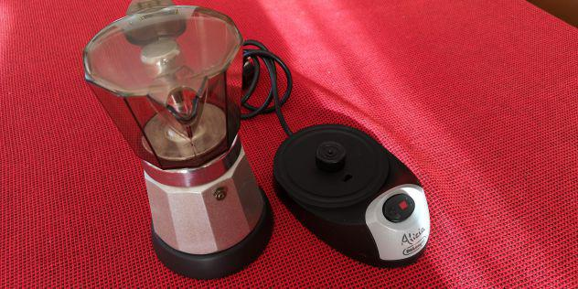 Caffettiera alicia moka elettrica de longhi-neroar