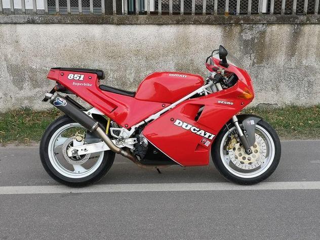 Ducati - superbike desmo - 851 cc - 1990