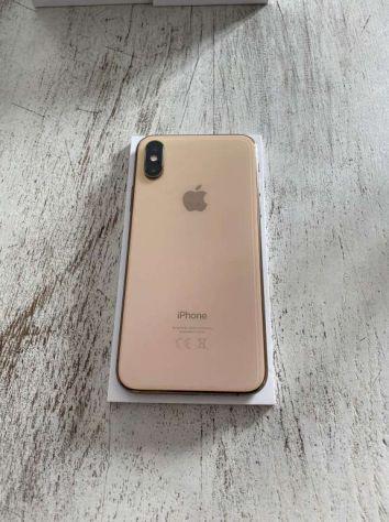 Iphone xs gold 256go in garanzia