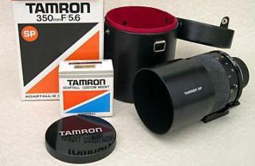 Tamron 350mm f/5.6 sp
