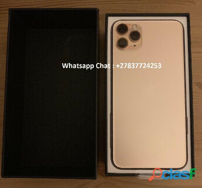 Apple iphone 11 pro 64gb = €600,iphone 11 pro max 64gb = €650 ,iphone xs 64gb = €400 , iphone xs max