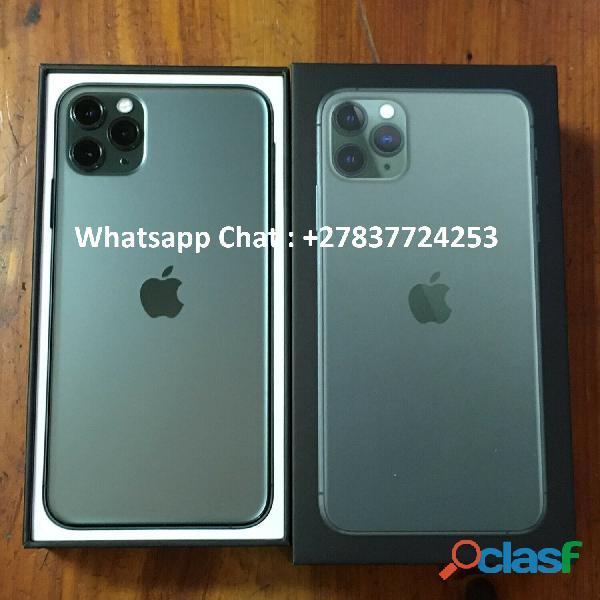 Apple iPhone 11 Pro 64GB = €600,iPhone 11 Pro Max 64GB = €650 ,iPhone XS 64GB = €400 , iPhone XS Max 2