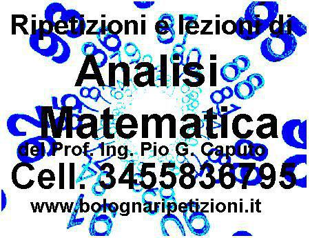 Ripetizioni di analisi 1 a bologna