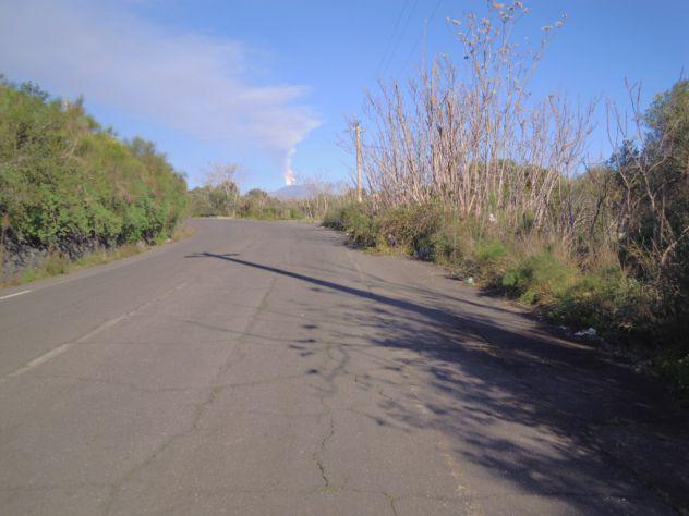 Terreno agricolo 7753 mq su strada vista mare/etna a