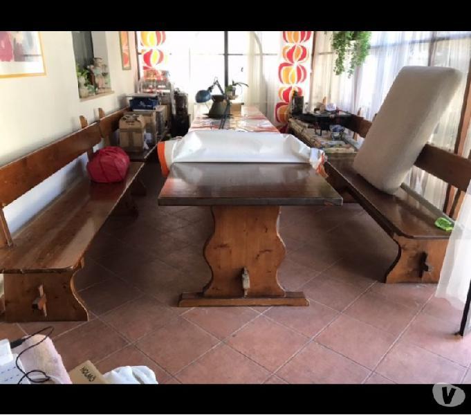 Tavolo rustico allungabile legno 【 OFFERTES Gennaio 】 | Clasf
