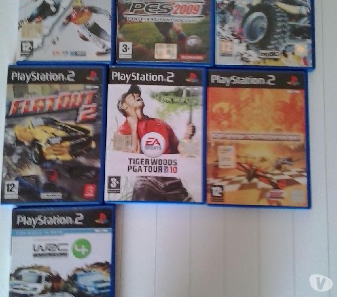 20 videogiochi ps2 e ps1 + 2 joystick + ps2 originali