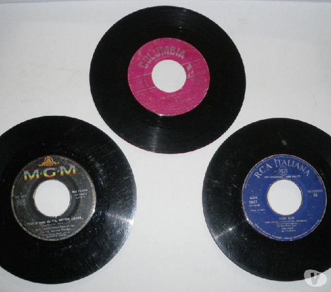 Dischi in vinile a 45 giri, anni sessanta