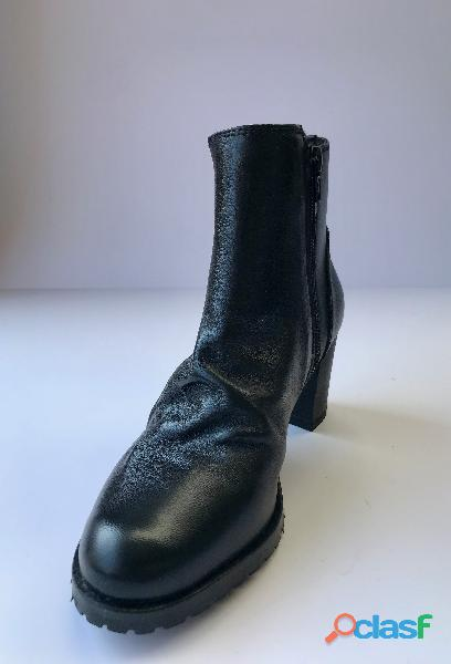 Wrinkled Half Boot piccoli e grandi numeri