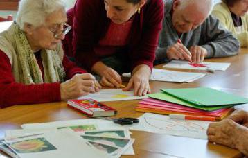 Animatore anziani