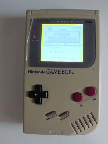 Console retrogaming nintendo gameboy retroilluminato