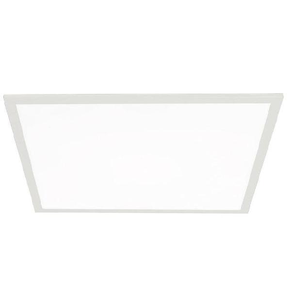 Incasso cartongesso faretto quadrato alluminio bianco led 40