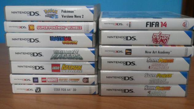Lotto Giochi Nintendo Ds Pal Italiani Completi Pokemon