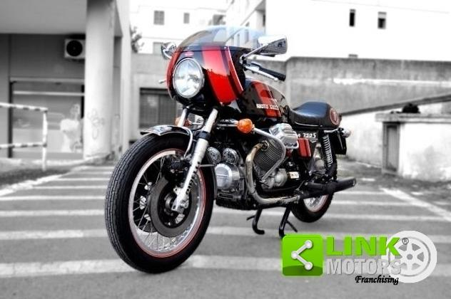 Moto guzzi v7 750s con cupolino condizioni da esposizione