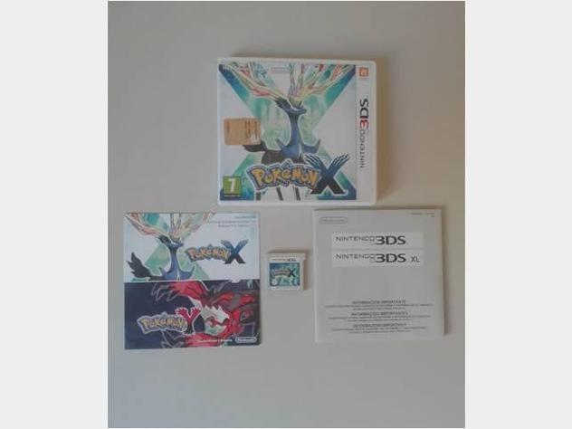 Pokemon x - nintendo 3ds pal ita usato