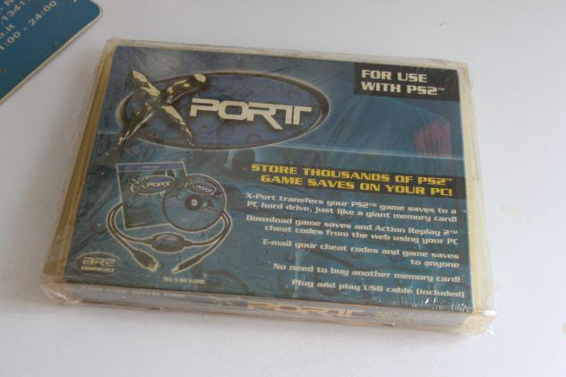 X-port datel cavo dati ps2 playstation 2