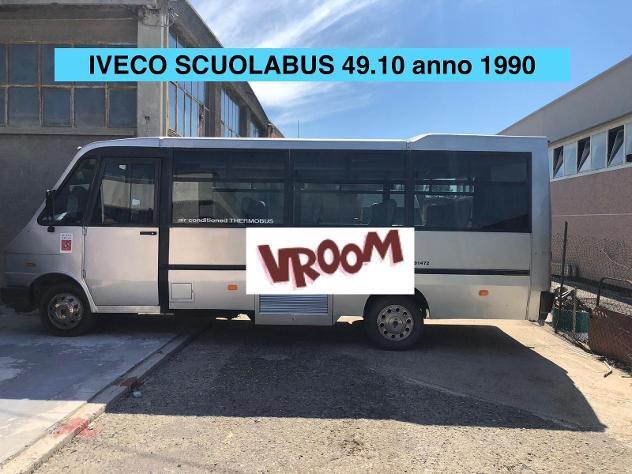 Iveco 49.10 scuolabus 21 posti anno 1990 null