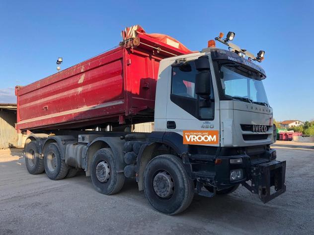 Iveco trakker 450e5 anno 2008 con attacco lama null