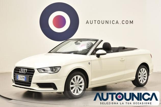 Audi a3 cabrio 2.0 tdi clean diesel ambiente automatica rif.
