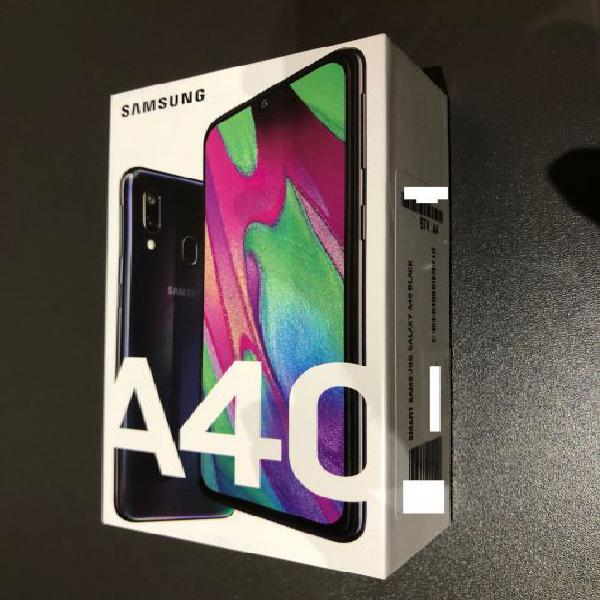 SAMSUNG A40 64GB BLACK NUOVO