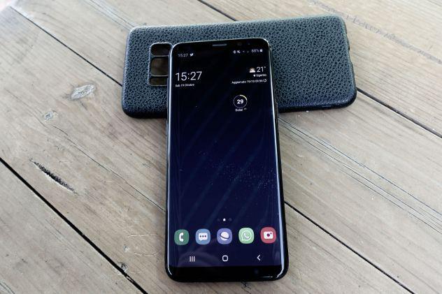Samsung galaxy s8 nero