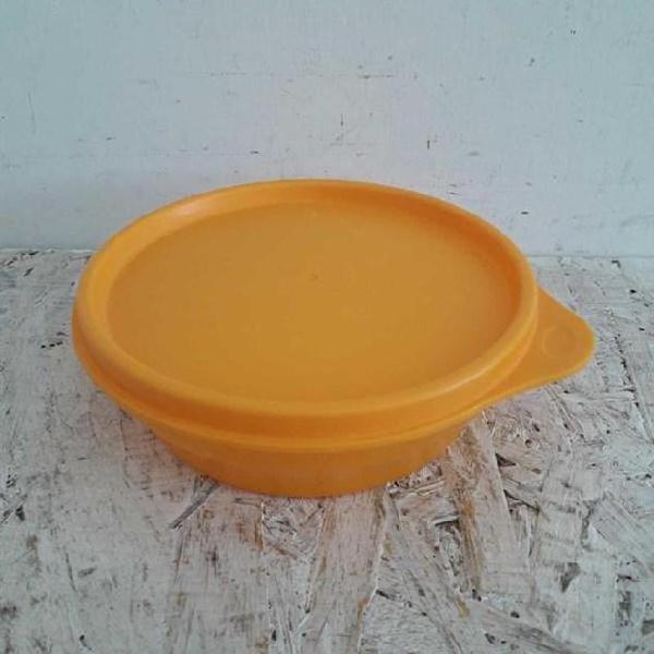 Contenitore plastica tupperware arancione piccolo