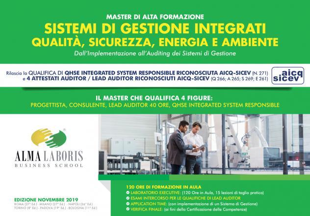Il settore qualità, sicurezza, energia e ambiente ricerca