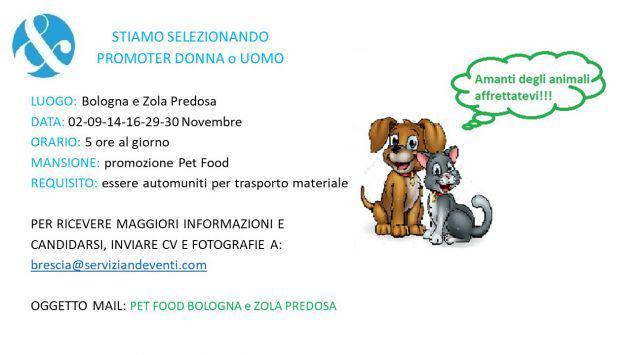 Promoter per pet food