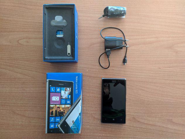 Smartphone nokia lumia 925 nero + cuffie originali