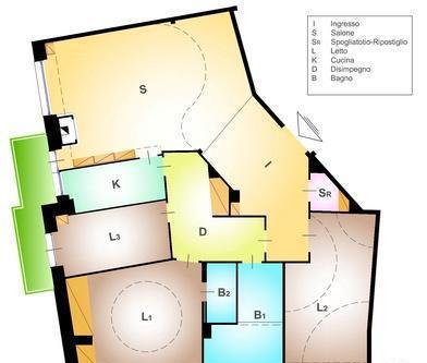 Appartamenti roma gianicolense - colli portuensi -