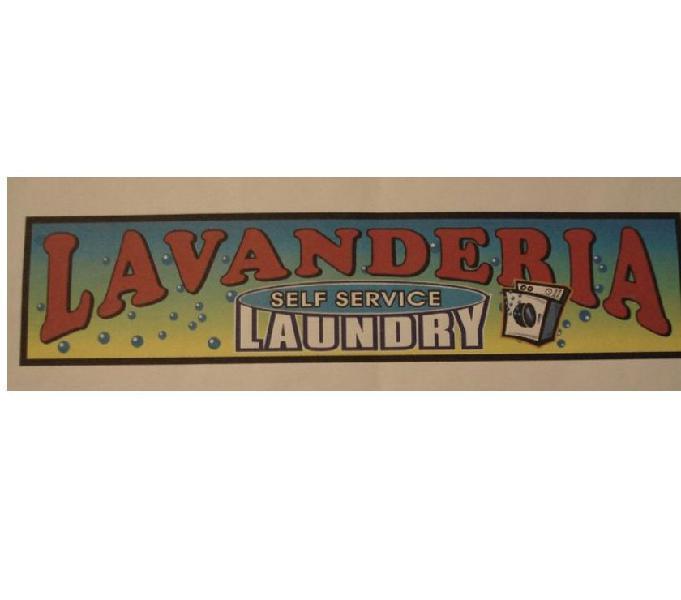 Attività ventennale lavanderia self service assistita