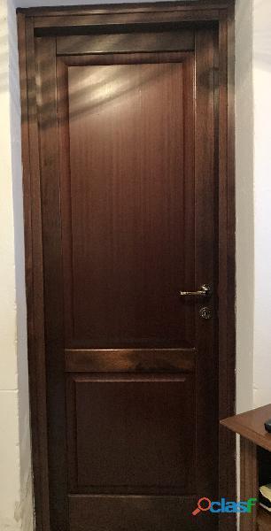 Porte interne usate in legno massello