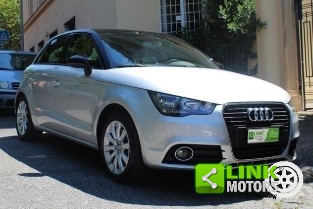 Audi a1 sportback 1.6 tdi 105 cv, uniproprietario, tagliandi