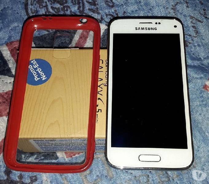 Samsung s5 mini bianco + opzional