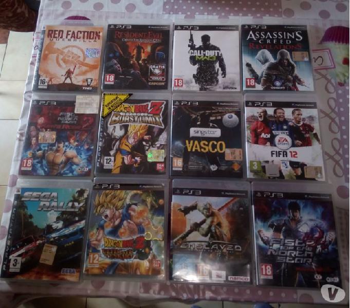 Vendo giochi playstation 3 originali