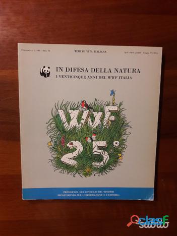 In difesa della natura: i 25 anni del WWF Italia