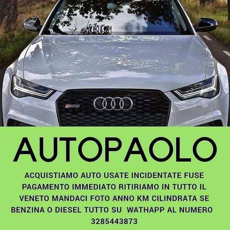Acquistiamo auto usate incidentate pagamento immediato casch