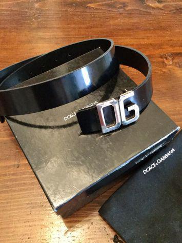 Cintura dolce gabbana logo originale nuova