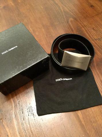 Cintura dolce gabbana scudo originale nuova