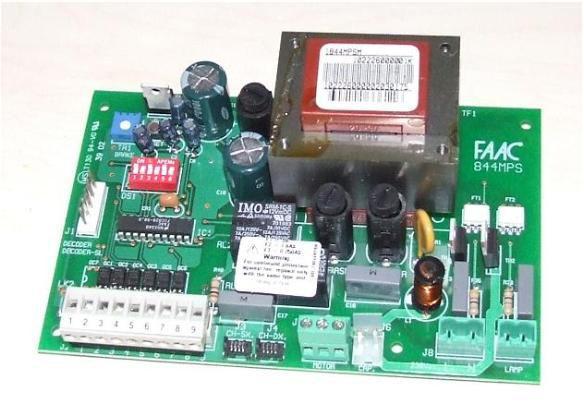 Scheda faac 844 mps elettronica riparazione