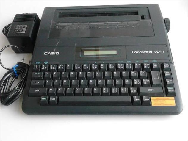 Vendo macchina da scrivere elettronica casio write usato